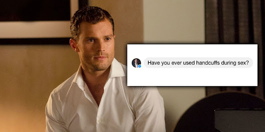 Here's how Christian Grey can slide into your DMs