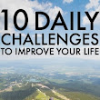 Daily Challenges To Improve Your Life - Daily Challenge List