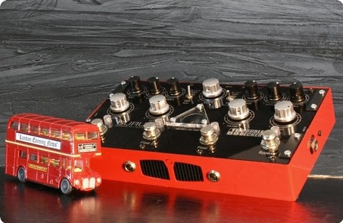 GURUS 1959 Double Decker 2016 Red/Black Effect For Sale NordSound F:ma