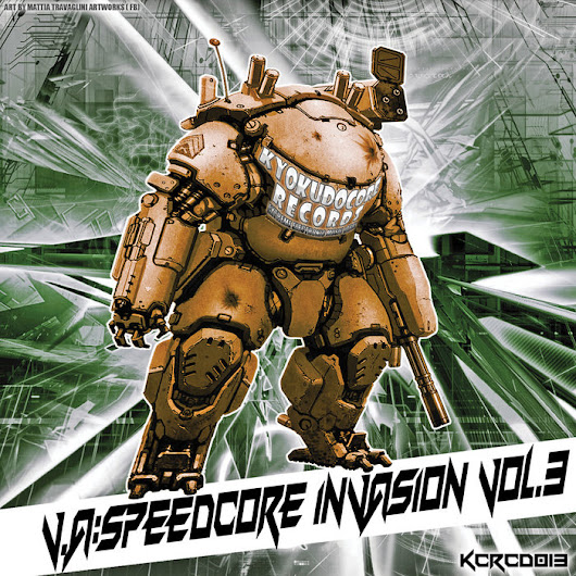 KCRCD013 - V.A. - Speedcore Invasion Vol. 3, by Various Artists