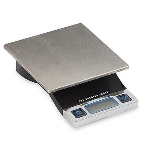 sharper image precision digital food scale bed bath