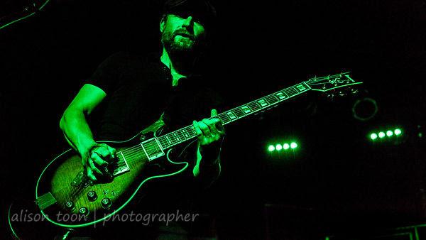 Mark Engles, guitar, Black Map