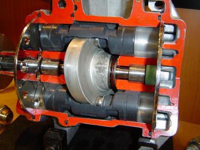 A/C compressor cutaway