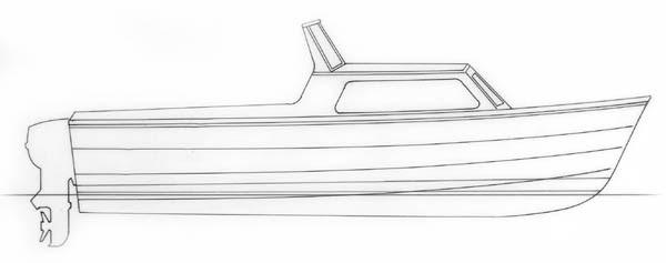 Boat design cabin cruiser | Plywood