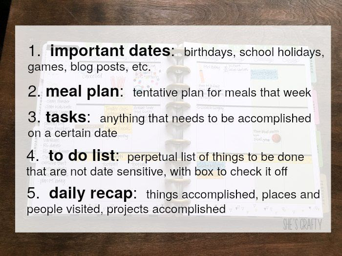 planner, to do list, accomplish tasks