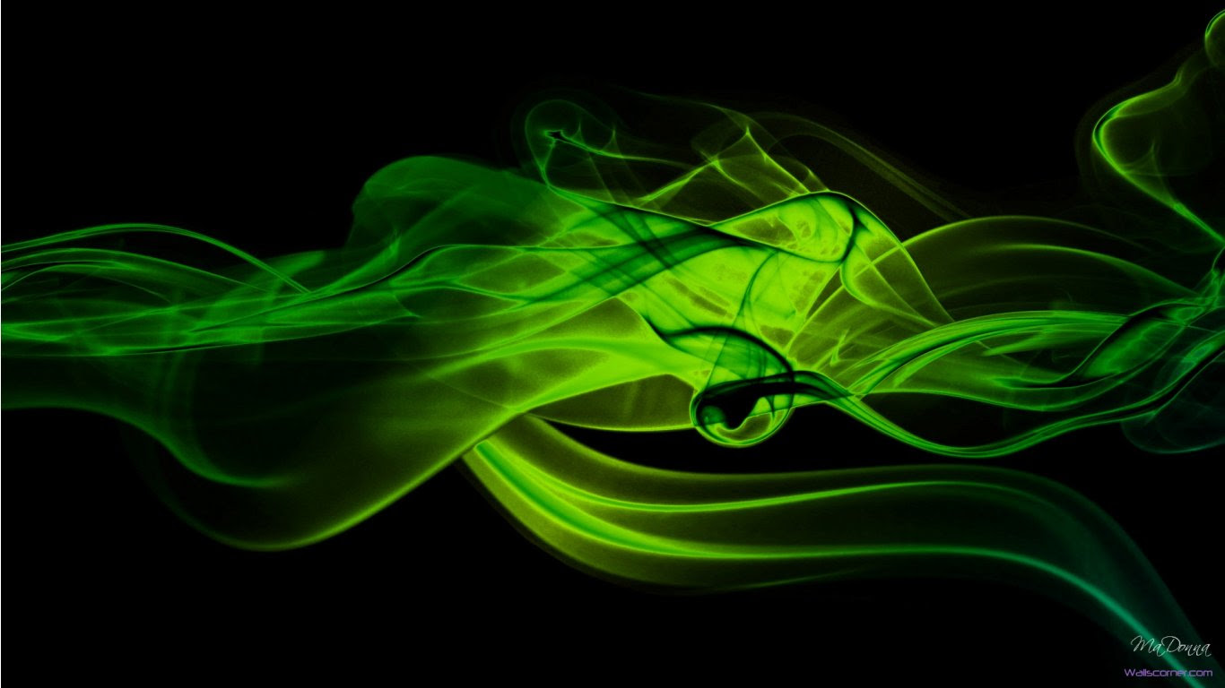 Green Abstract Wallpaper 1920x1080 Wallpapers Point