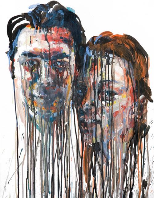five chrissy angliker artist painter painting