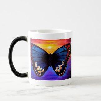 Butterfly Painting Art - Multi mug