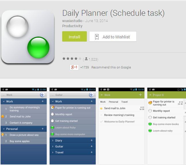 daily agenda app android my blog