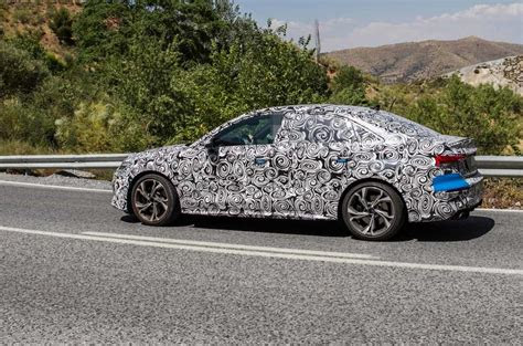 audi  hot saloon variant spotted