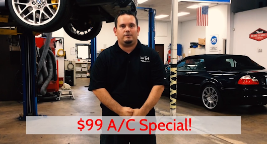 A/C Service Special - Performance Motor Works
