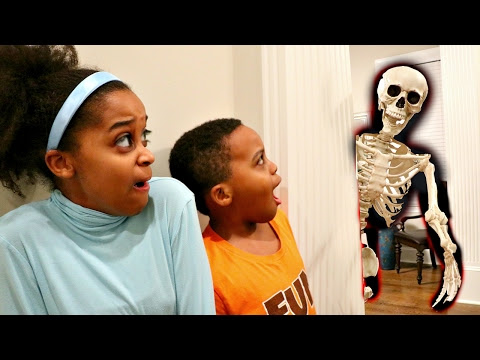 HAUNTED SKELETON ATTACKS Bad Baby Shiloh and Shasha