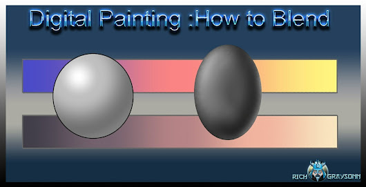 Digital Painting : How to Blend