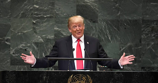 Trump addresses U.N., brags about his accomplishments, draws derisive laughter