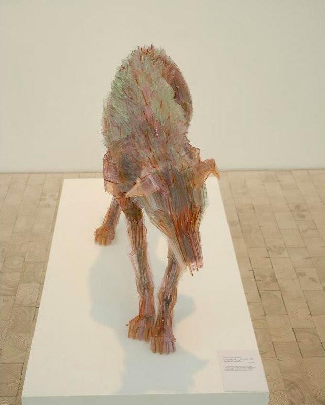 Quebrados Animais de vidro por Marta Klonowska animais escultura de vidro