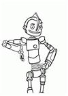 Robot Boyama ücretsiz Boyama Resimleri