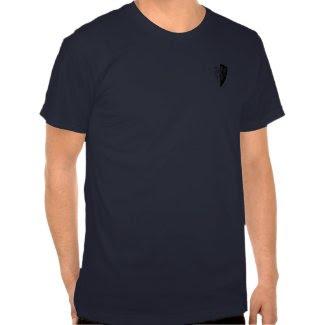 William Marshal Black-n-White Date Shirt zazzle_shirt