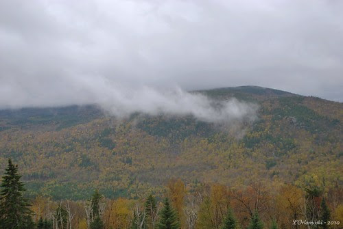 Up in the clouds in Maine