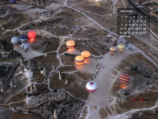 Cappadocia Desktop Wallpaper September 2014