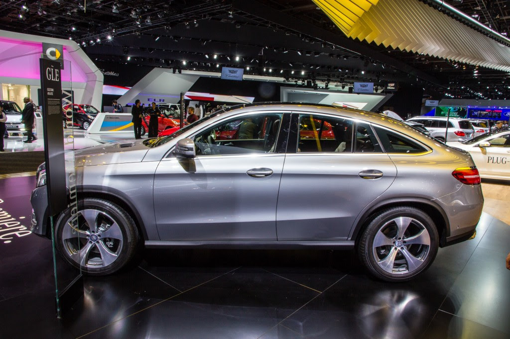 Mercedes-Benz Starts Production Of New GLE Coupe At U.S. Plant ...