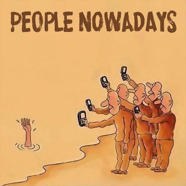Pessoas hoje em dia.
