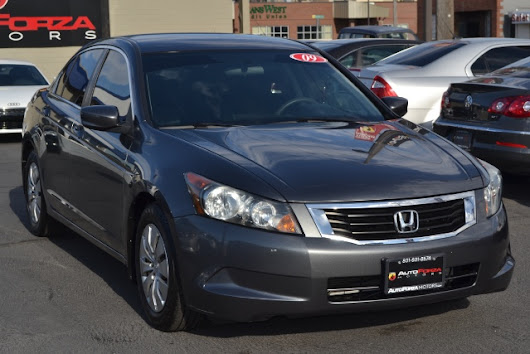 Used 2009 Honda Accord LX sedan AT for Sale in Salt Lake City UT 84115 AutoForza Motors