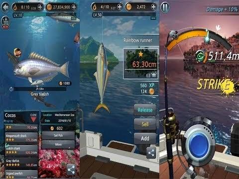 Olta Android Balık Tutma Oyunu
