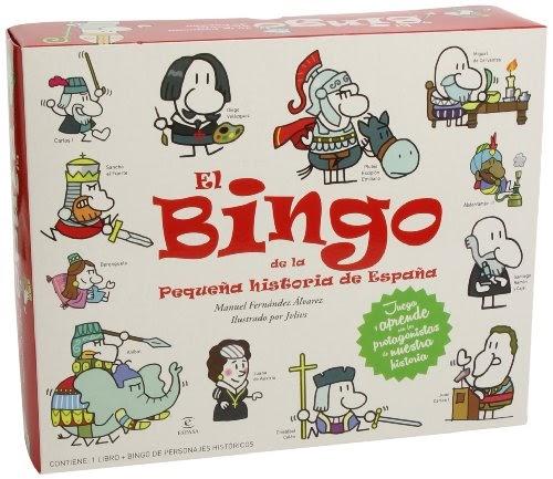 Lee Un Libro El Bingo De La Peque U00f1a Historia De Espa U00f1a
