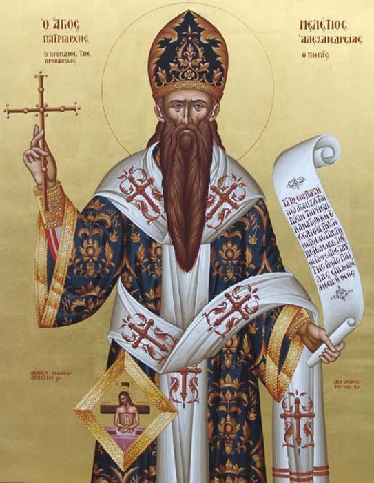 IMG ST. MELETIUS, Patriarch of Alexandria, Pegas