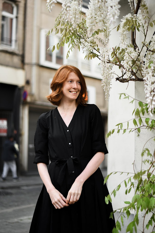 A Little Black Dress For Spring • The Ginger Diaries