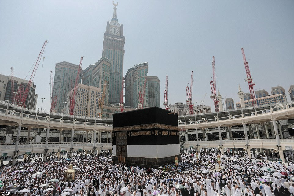 Global gathering: Each year huge crowds are drawn to Mecca to carry out a series of rituals and prayers aimed at erasing past sins
