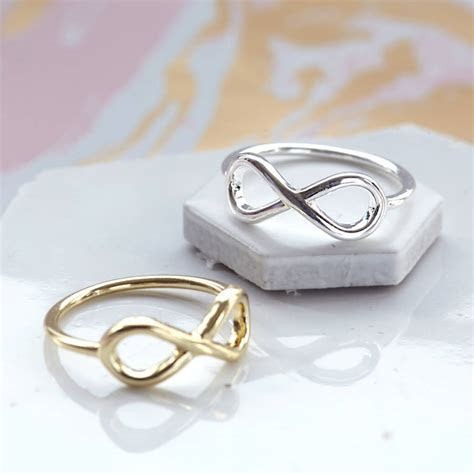 infinity ring by junk jewels   notonthehighstreet.com