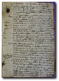 1822, acte naissance Pietro Paolo Desanti