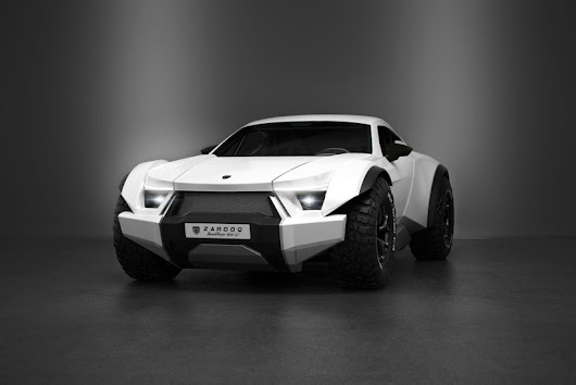 the zarooq sandracer 500GT is an off-road supercar