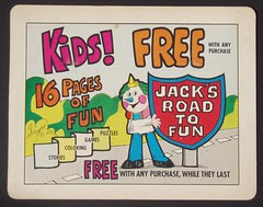 Jacks Road to Fun sign