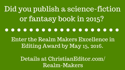 Realm Makers Award – Christian Editor Connection