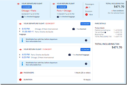 Delta/SkyTeam $472-$506 Chicago ORD to 6 airports in France Jan 11-May 10 - Loyalty Traveler