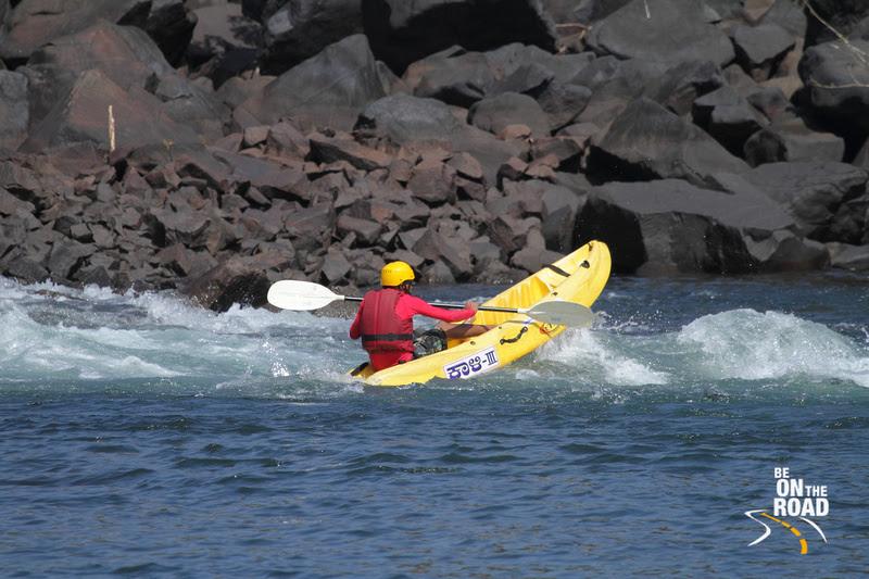 Kayaking - an adventure sport you can indulge in at Dandeli, Karnataka