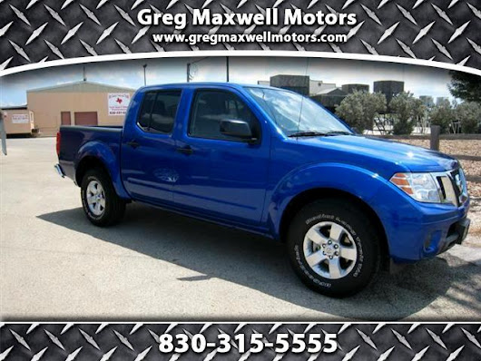 Used 2012 Nissan Frontier for Sale in Kerrville TX 78028 Greg Maxwell Motors