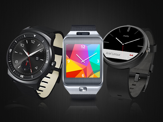 Take Your Pick From The Hottest Android Watches: The Moto 360, The Samsung Gear 2, And The LG G