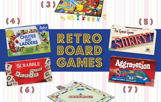 Retro versions of classic board games: 12 hits of yesteryear you can get again