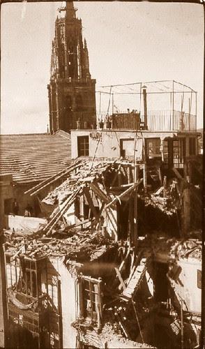 Catedral de Toledo, España, en plena Guerra Civil