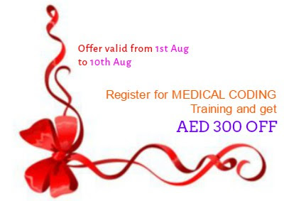 August Offer: Get AED 300/- OFF on Medical Coding Training