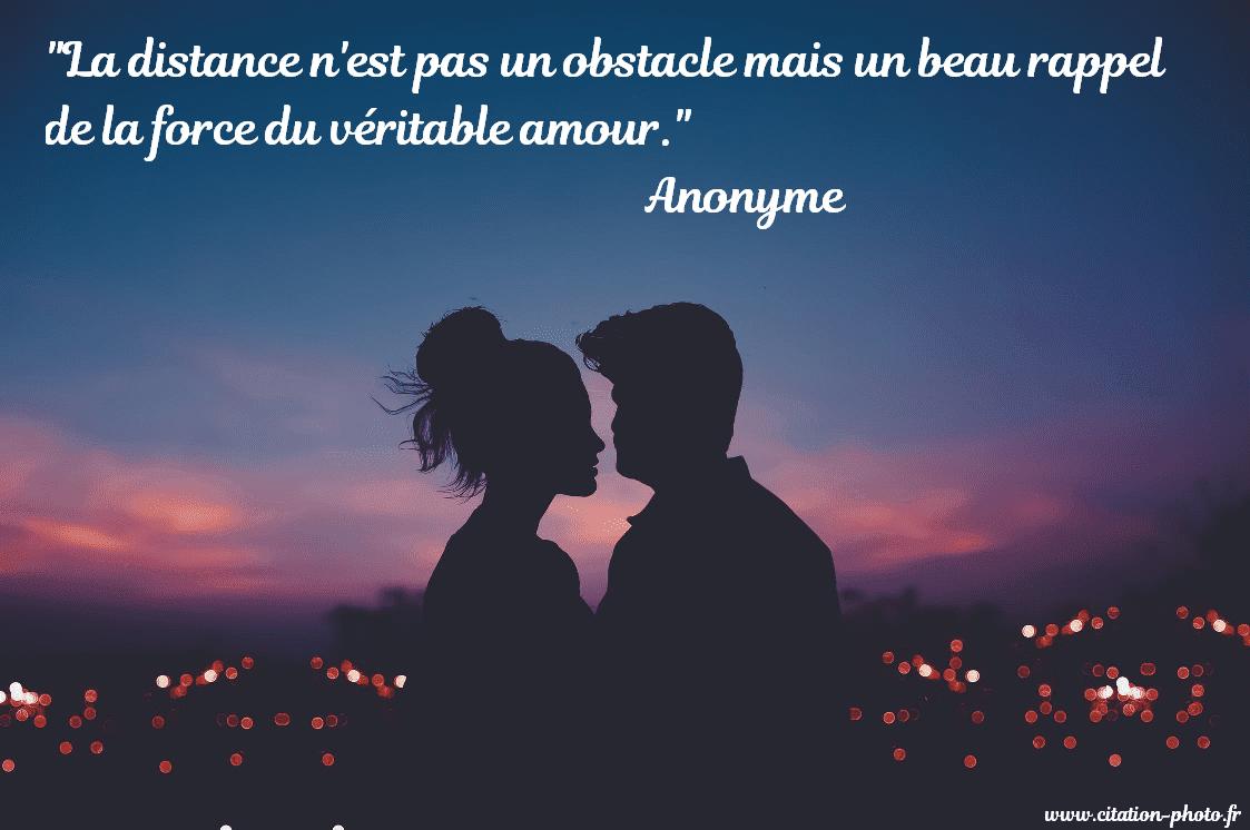 Amour A Distance Citation