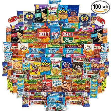Win an Ultimate Snack Gift Box (100 Count)