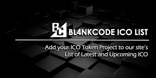 ICO List - List of Latest and Upcoming ICO| Bl4nkcode