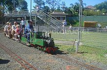 Opelika AL Miniature Train