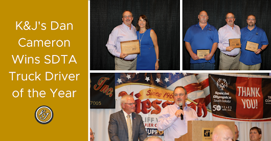 K&J's Dan Cameron Wins SDTA Truck Driver of the Year