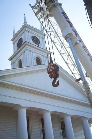 Edgartown town clock bell