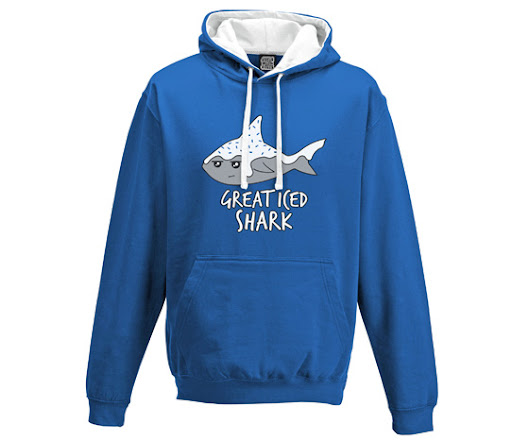 Great Iced Shark Hoodie | Cakes with Faces